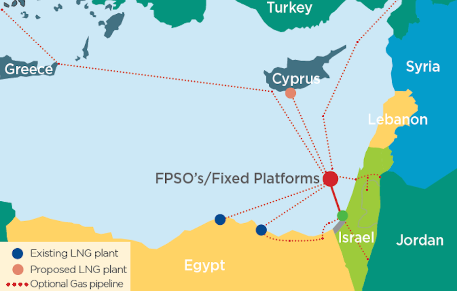 Israel Launches 4b Gas Field And Pipeline Investment