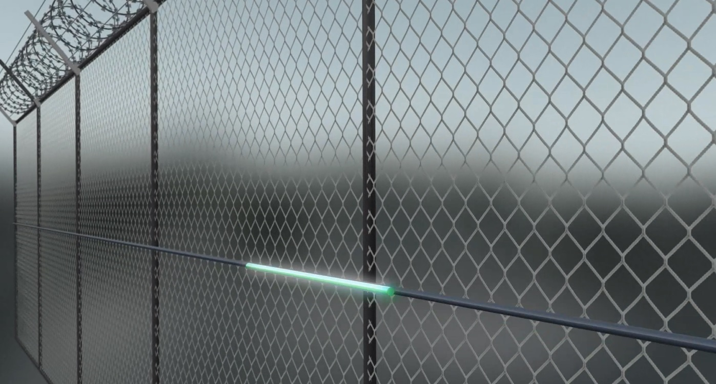 Magal Fiber Optic Sensors For Fence Pipeline And