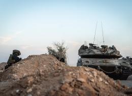 כוחות חטיבה 7 ברצועת עזה במסגרת מבצע ׳שומר החומות׳