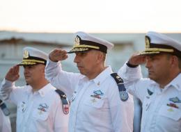 מפקד חדש לבסיס חיל הים בחיפה