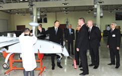 "Production in Azerbaijan Begins in a Factory Set Up by the Israeli Company - ""Aeronautics"""
