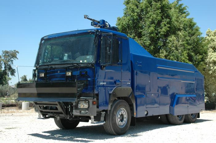 A New Model for the Riot Control Vehicle