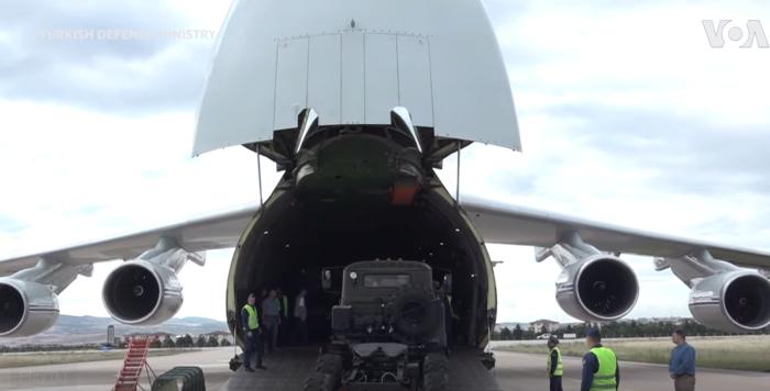 טורקיה קיבלה משלוח ראשון של רכיבי S-400