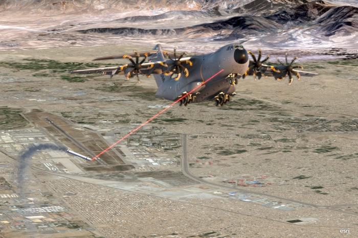 אלביט מערכות תספק מערכות לייזר להגנה על מטוסים של חיל האוויר הגרמני