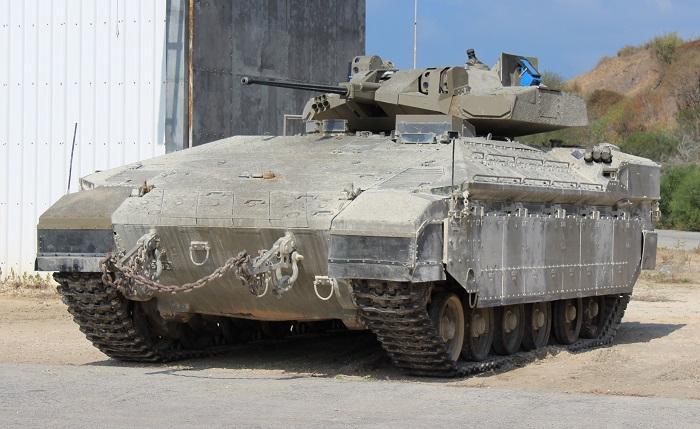 """נגמ""""ש עם צריח והגנה אקטיבית כתחליף מודרני לטנקים. דעה"""