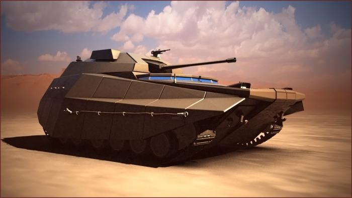 "Israel's future tank - The ""Carmel"""