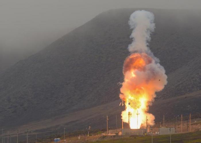 """הושלם בהצלחה בארה""""ב ניסוי יירוט טילים בליסטיים בין-יבשתיים"""