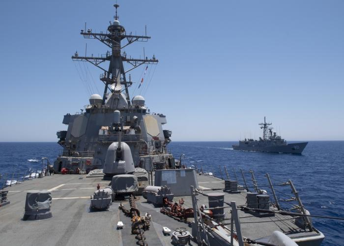 Egypt, UAE, US Conducted Joint Exercise in Red Sea | Israel Defense