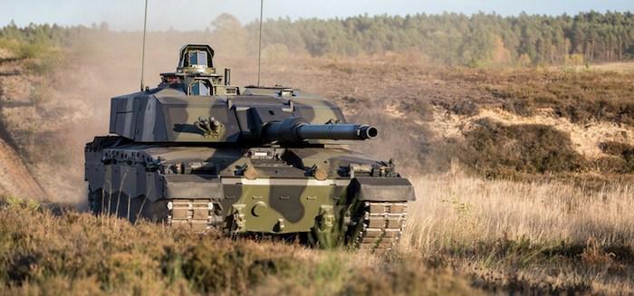 בקרוב בצבא בריטניה: טנק מערכה חדש מדגם צ'לנג'ר 3