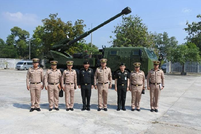 The Thai Navy Plans to Acquire 155mm ATMG from Elbit Systems