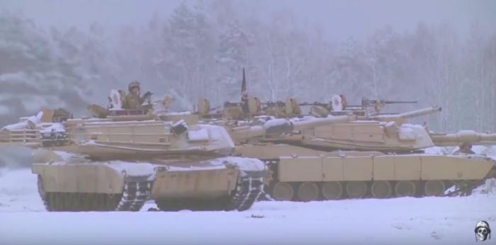 """ארה""""ב ביצעה ניסוי מוצלח במערכת מעיל רוח על טנק אברהמס"""