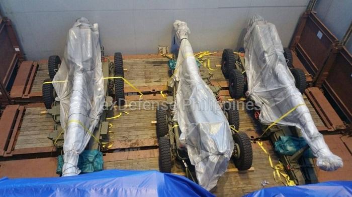 הפיליפינים קיבלו משלוח תותחי M-71 מאלביט מערכות