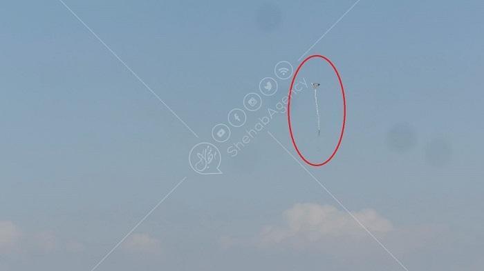 צפו: עפיפון 'מולטוב' של חמאס