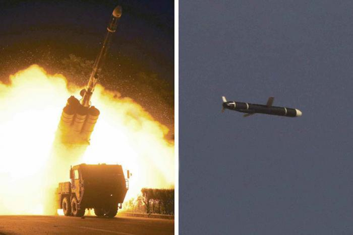 For the first time, North Korea test-launches cruise missile