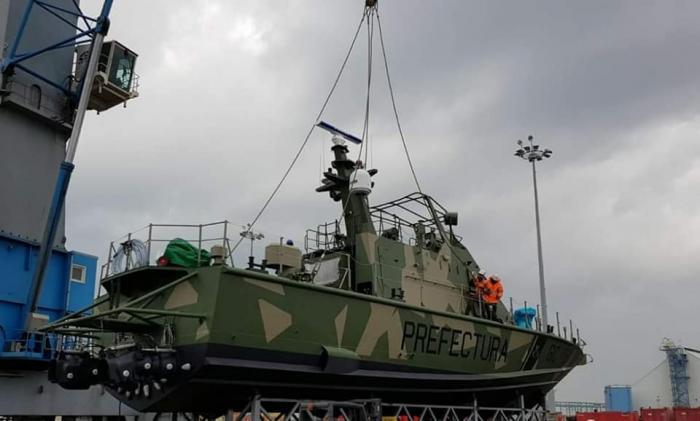Israel Shipyards Delivers Two More Shaldag Boats to Argentina