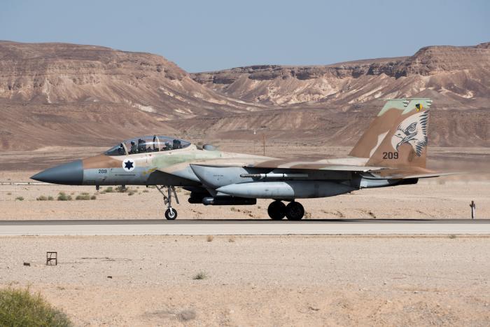 """בעקבות ירי לעבר מטוסי חיל האוויר: סוללת נ""""מ סורית הושמדה"""