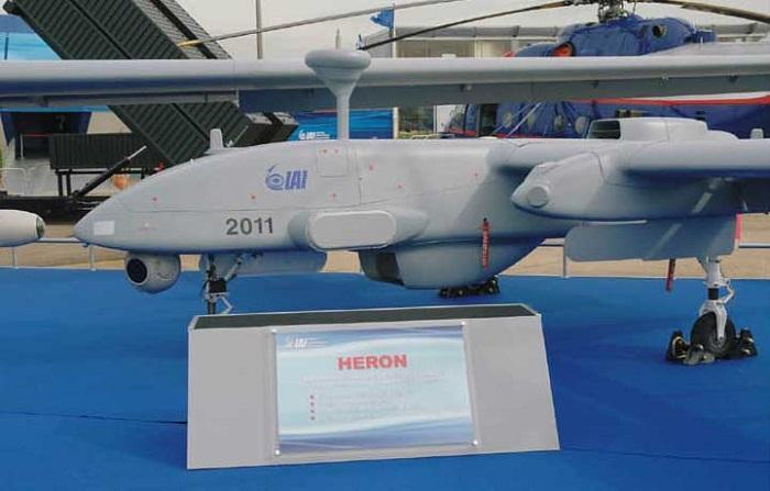 Frontex will Test Heron UAV for Maritime Surveillance