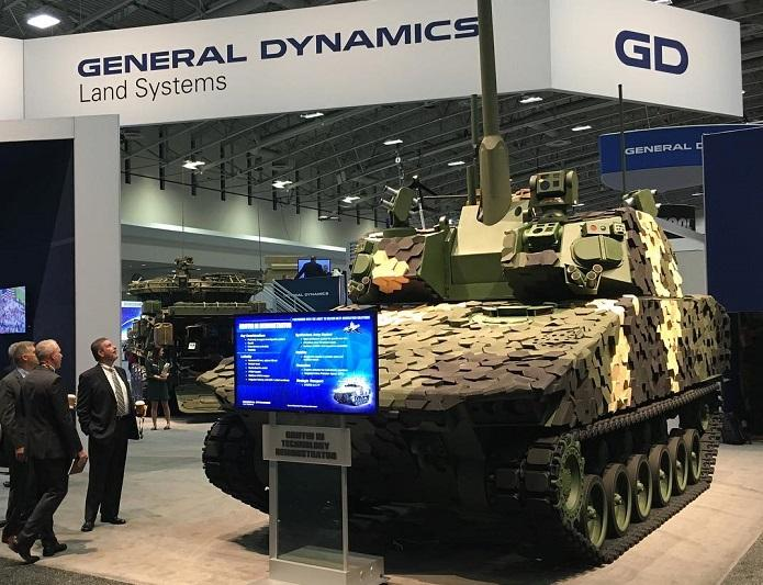 General Dynamics Unveils Griffin-III with Iron Fist