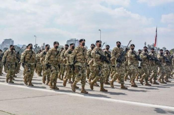 Chilean Army reveals it is using IWI 'Arad' assault rifles