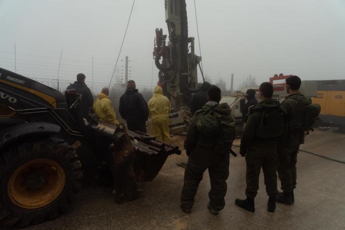 """תיעוד: העבודות ההנדסיות של צה""""ל בגבול לבנון"""
