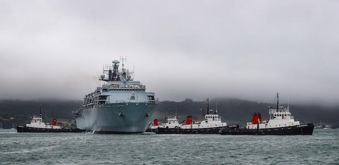 בריטניה שוקלת כוח ימי ייעודי להגנת נתיבי שיט מפני תוקפנות איראנית