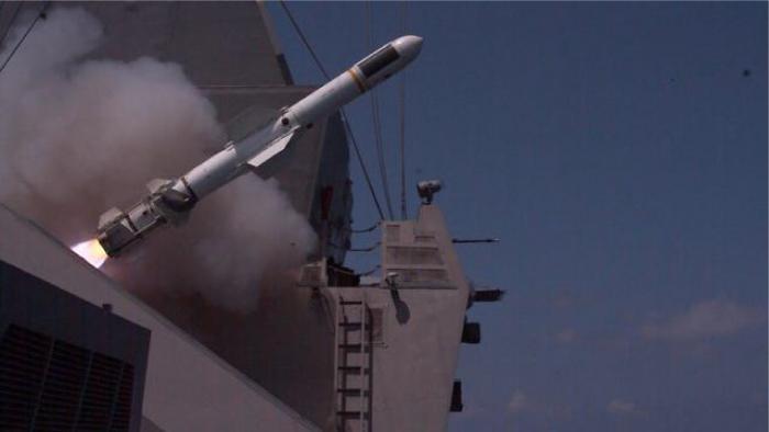 Watch: Israeli Navy Intercepts Aerial, Naval Targets in