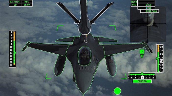איירבוס ביצעה תדלוק אווירי אוטומטי ראשון של מטוס קרב F-16