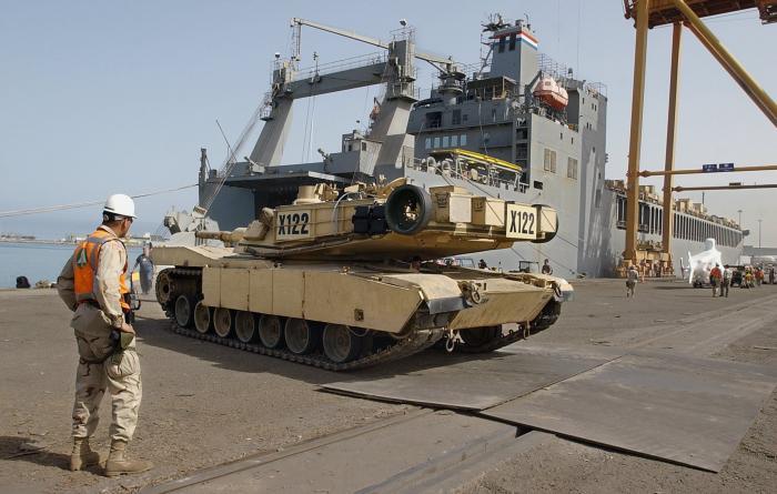 """הסכם בין ארה""""ב למצרים לשת""""פ בייצור טנקים מדגם """"אברמס"""""""