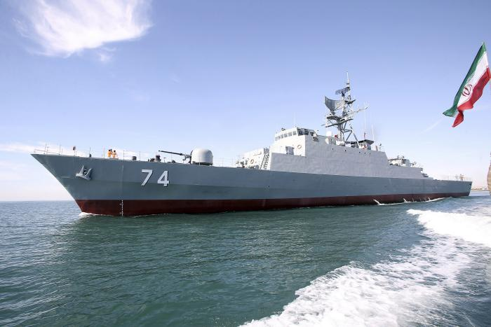 Iran Deploys New Warship to the Gulf of Aden | Israel Defense