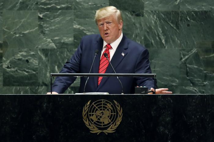 """טראמפ: """"על כל העולם לפעול נגד איראן"""""""