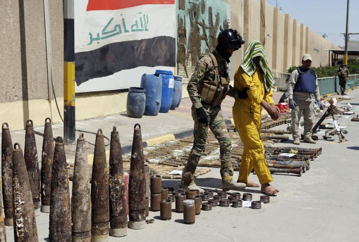 Dealing with the Accretions of ISIS