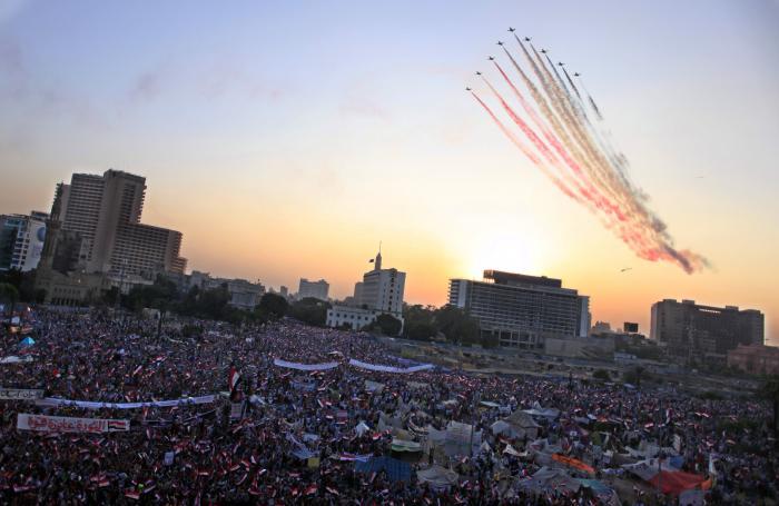 تقرير إسرائيلي يرصد تطور قدرات سلاح الجو المصري AP_749477403901