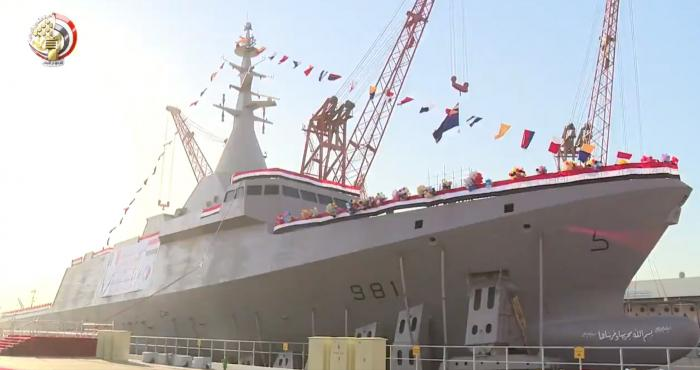 Egypt Launches Second Locally-Built Gowind 2500 Corvette
