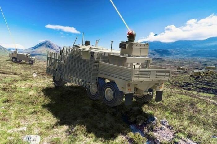 Raytheon to develop laser for British Defence Ministry