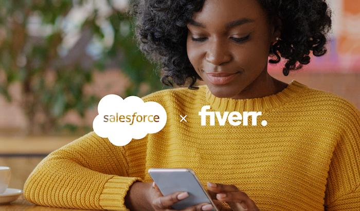 שת״פ בין Fiverr ו-Salesforce להעצמת בעלי מוגבלויות