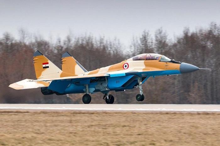 mig-29 egypt air force ile ilgili görsel sonucu