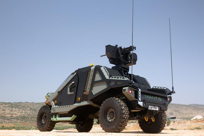 יורוסאטורי 2018: כרמור תחשוף את משפחת ה-Mantis, כלי-רכב מוגנים בעלי שרידות גבוהה בעיצוב חדשני