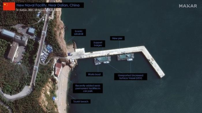 במסווה של אתר נופש: סין מפתחת כלי תקיפה בלתי מאוישים לזירה הימית