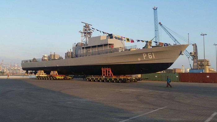 מספנות ישראל מוסרת את ספינת הסיור הראשונה לקפריסין