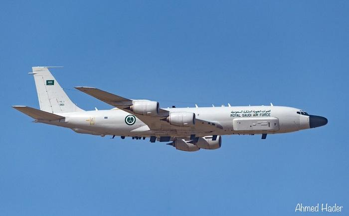 הצבא הסעודי חושף מטוס משימה משודרג