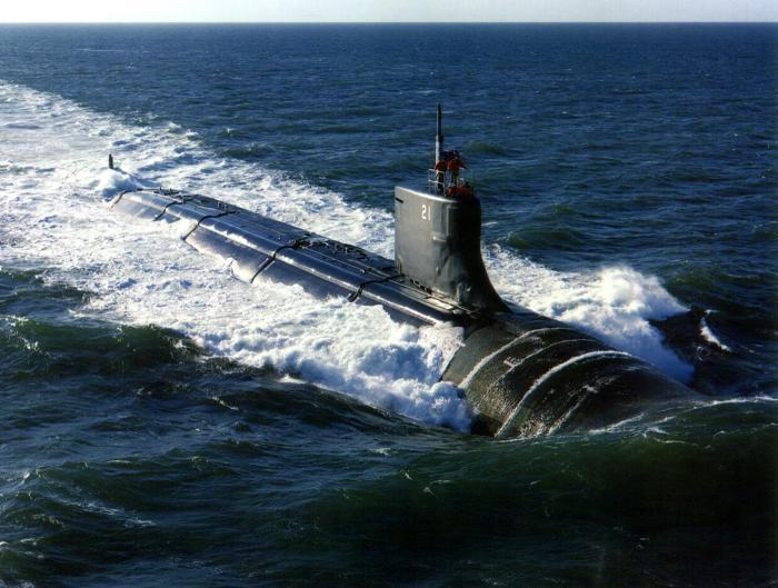 צוללת תקיפה גרעינית אמריקאית עברה תאונה בים סין הדרומי