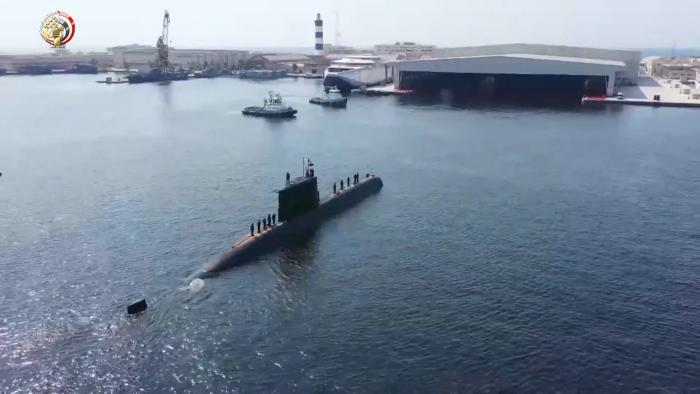 הצוללת המצרית הרביעית הגיעה למצרים