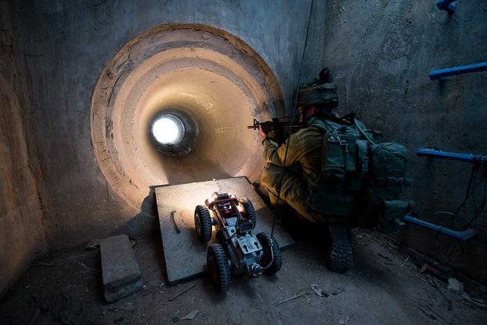צפו: כך סיירת יהלום נלחמת באיום המנהרות