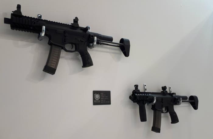 מדהים IWA 2018: EMTAN's New 9mm SMG | Israel Defense OY-48