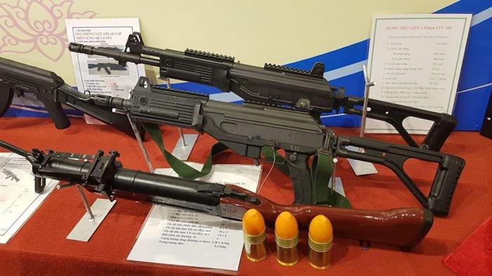 וייטנאם חשפה רובה סער מבוסס על ידע של IWI