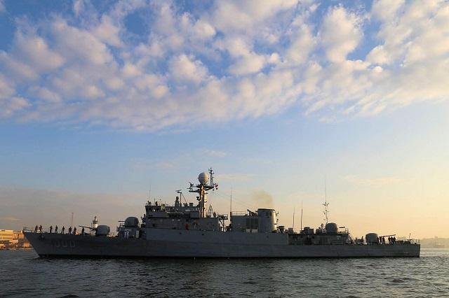 חיל הים המצרי קיבל מקוריאה הדרומית פריגטה חדשה