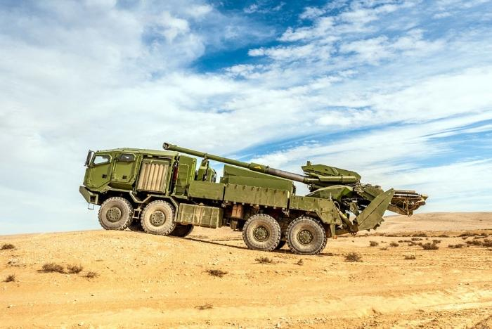 Elbit's mobile howitzer selected by US Army for Shoot-off Evaluation