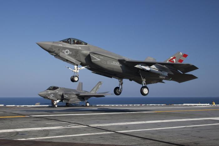 F-35 da Marinha dos EUA