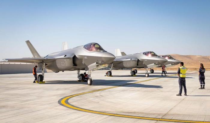 The world's leading stealth aircraft has components made in Israel