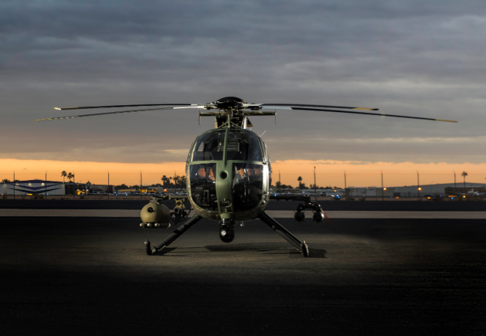 Elbit to Upgrade MD 530G Helicopters with Integrated Weapons System